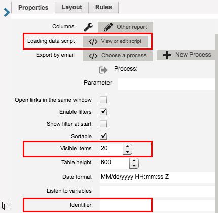 RunMyProcess User Guide » JavaScript Report